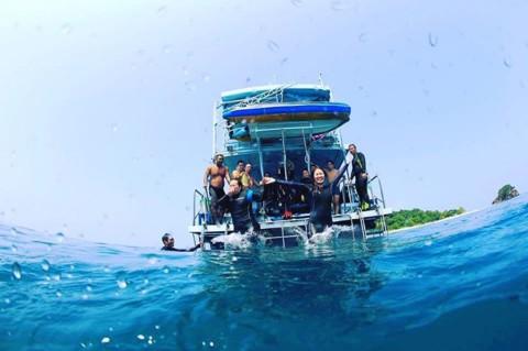 Scuba Divers Area